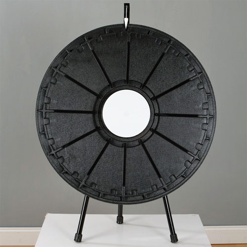 Tabletop Prize Wheel (12 to 24 Slot) with Carrying Case