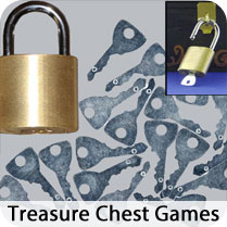 Locks, Keys, Treasure Chests